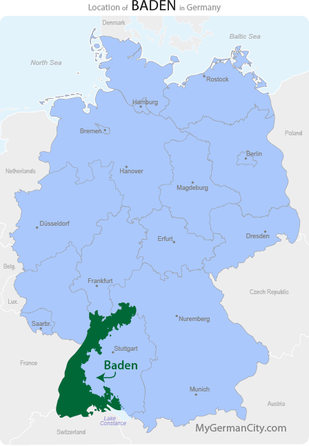 Baden Map