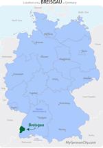 Breisgau Map