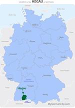 Hegau Map