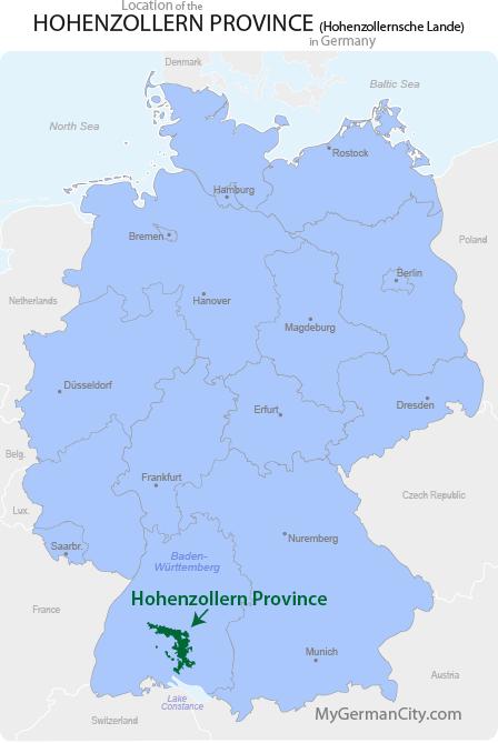 Hohenzollern Province Map