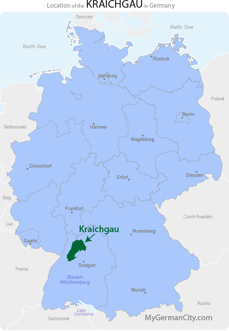 Kraichgau Map