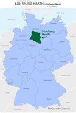 Lüneburg Heath Map