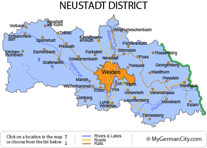 Neustadt Germany Map.Neustadt District Fresh Air Fabulous Finds
