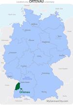 Ortenau Map