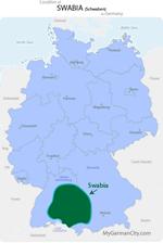 Swabia Map