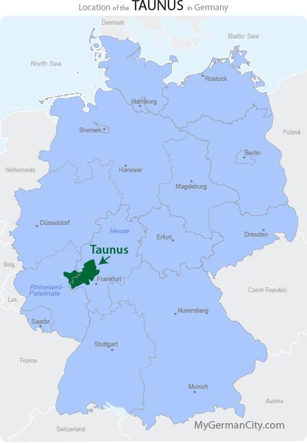 Taunus Map
