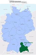 Upper Bavaria Map