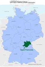 Upper Franconia Map