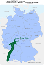 Upper Rhine Valley Map