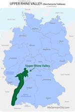 Upper Rhine Valley Map