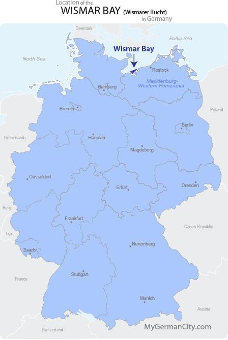 Wismar Bay Map